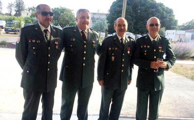Cuatro guardias civiles de Murcia, condecorados en Francia por una operación internacional contra las drogas