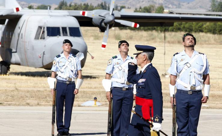 Cambio de mando en la Base Aérea de Alcantarilla
