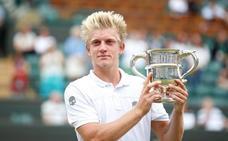 Davidovich se corona campeón de Wimbledon júnior