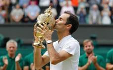 Federer dibuja su octavo Wimbledon