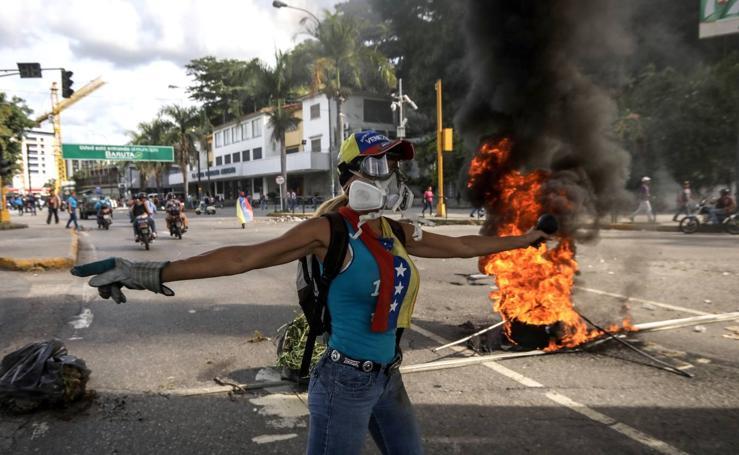 Caracas protesta