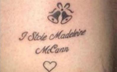 La última tendencia en Magaluf es tatuarse: 'Yo robé a Madeleine McCann'