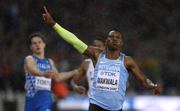 Isaac Makwala. /Phil Noble (Reuters)