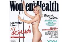 Blanca Suárez responde a los insultos sobre su cuerpo con un desnudo de revista