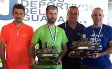 El Certamen Ciudad de Lorca de Pesca Deportiva reúne a 68 parejas en su vigésimo aniversario