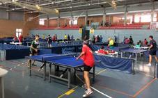 Récord de participaciones en un intenso Open Ciudad de Lorca de Tenis de Mesa