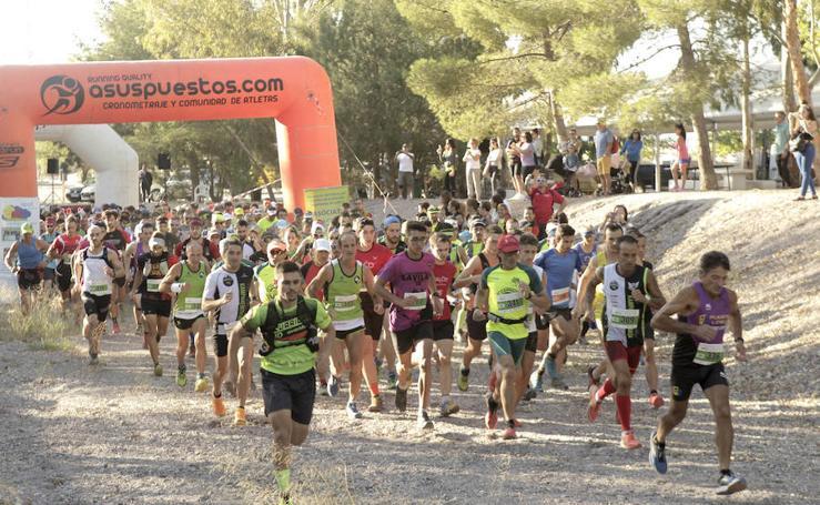 Juan Javier Jiménez Oller y Laura Guillén, vencedores en la prueba reina de la VI Peñarrubia Lorca Trail
