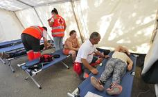 Más de 80 asistencias durante la romería por lipotimias y caídas