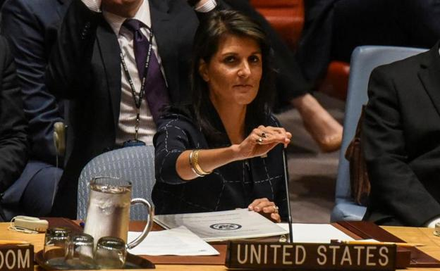 La embajadora ante Naciones Unidas, Nikki Haley./Stephanie Keith (Reuters)