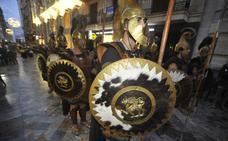 Tropas y legiones preparan un Gran Desfile más rápido y con más carrozas
