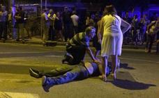 Varios heridos en el desalojo por la fuerza en las vías de Santiago el Mayor