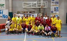 El pabellón de San José acoge una maratón de Fútbol Sala dentro de la programación de los Juegos del Guadalentín