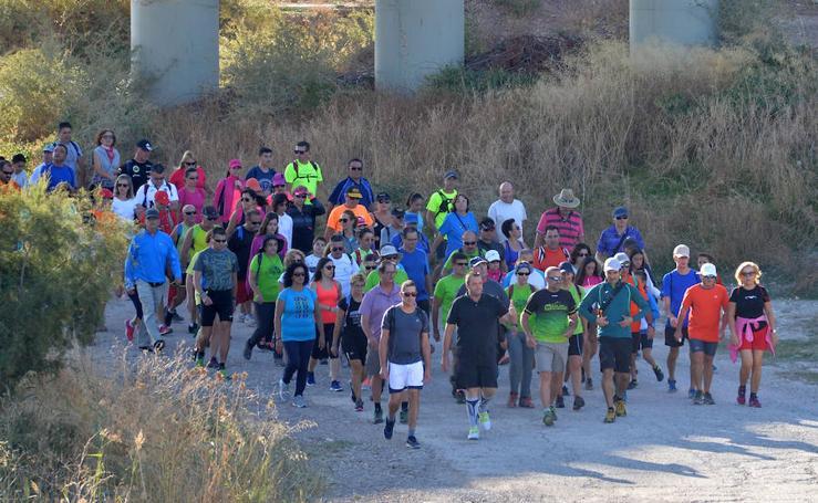 La Ruta al Cejo de los Enamorados reúne a 550 senderistas