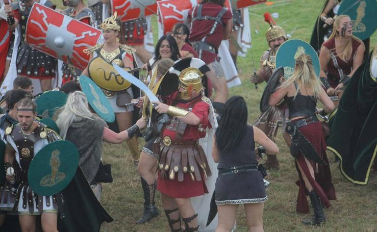 Tropas y legiones hacen historia