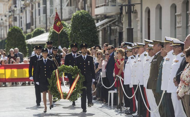 Homenaje en Cartagena a los policías fallecidos