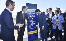 La autovía del Altiplano crece y pone a Murcia a dos horas de Valencia