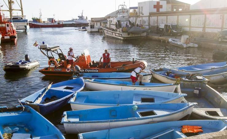 Llegan 17 inmigrantes al puerto de Cartagena