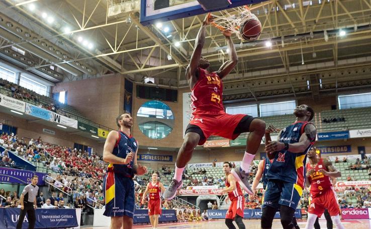 El UCAM sufre ante Morabanc Andorra pero ya tiene la primera victoria (81-77)