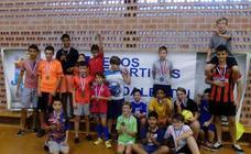 Almendricos acoge el torneo de fútbol sala de los Juegos Deportivos del Guadalentín