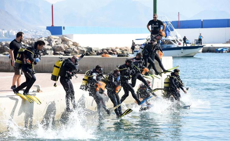 Unidos contra las basuras del fondo del mar