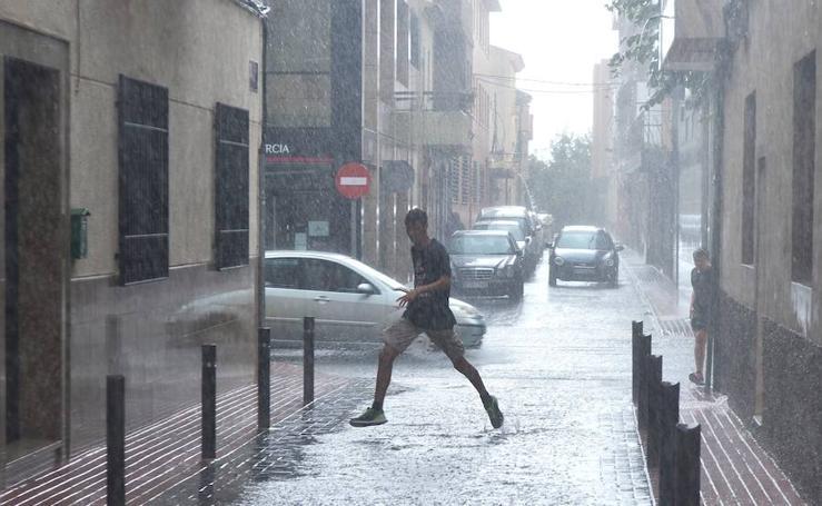 Todas las imágenes de lluvia de este miércoles