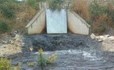 El PSOE de Lorca denuncia un vertido de aguas residuales industriales al cauce de la Rambla Alta