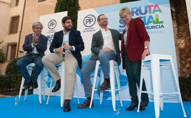 El PP presenta en Murcia su 'ruta social' para «escuchar a todos» los ciudadanos