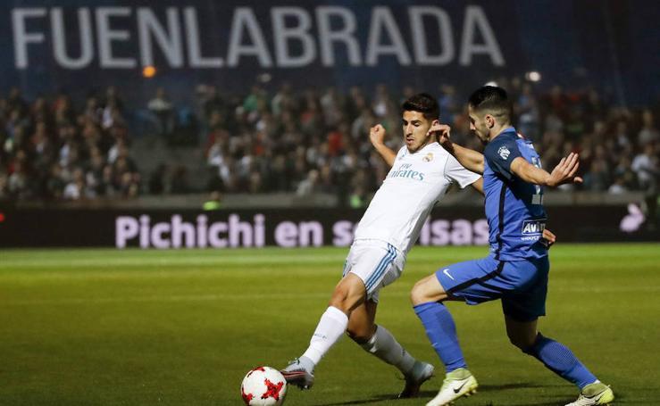 Los mejores momentos del Fuenlabrada-Real Madrid, en imágenes