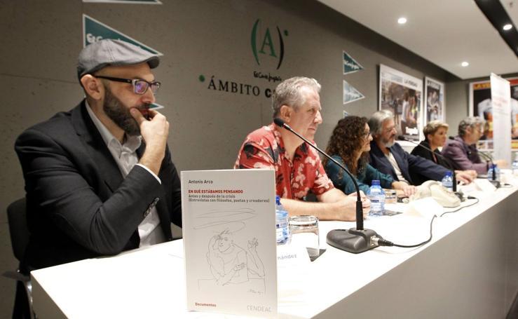 Antonio Arco presenta su libro 'En qué estábamos pensando'