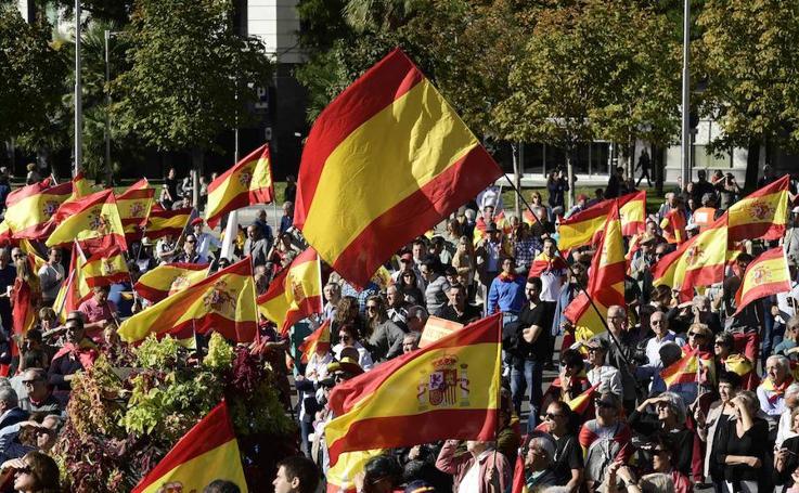 La manifestación de Madrid, en imágenes