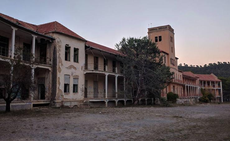 Antiguo sanatorio de tuberculosos de Sierra Espuña