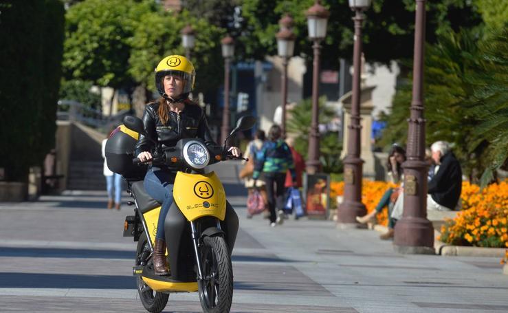 Arranca un servicio de alquiler de ciclomotores eléctricos