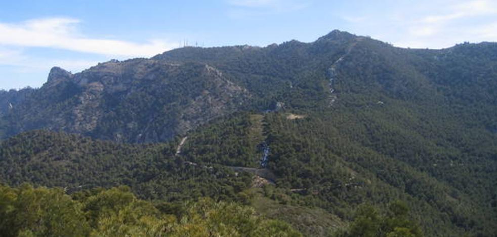 Por las cumbres de la Sierra de Ricote