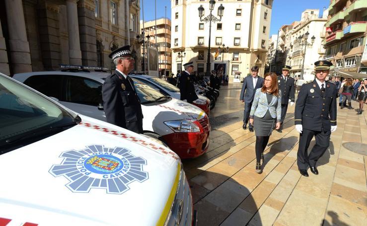 La Policía Local de Cartagena celebra San Leandro