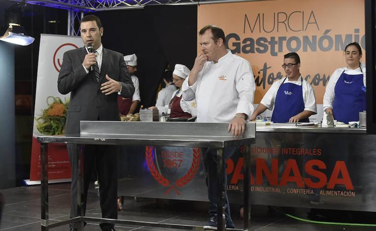 Ponencias de la primera jornada de la VI edición de Murcia Gastronómica