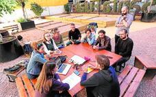 Echa a andar la actividad sociocultural en el Huerto Urbano de Santa Eulalia