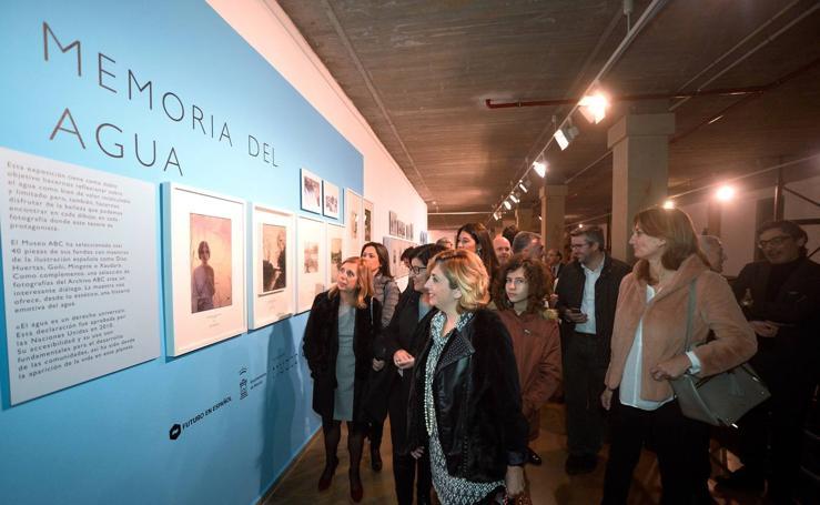 Inauguración de la exposición 'Memoria del agua'