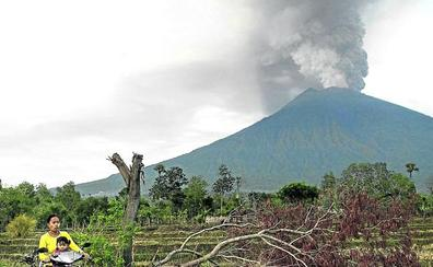 Los volcanes están que arden