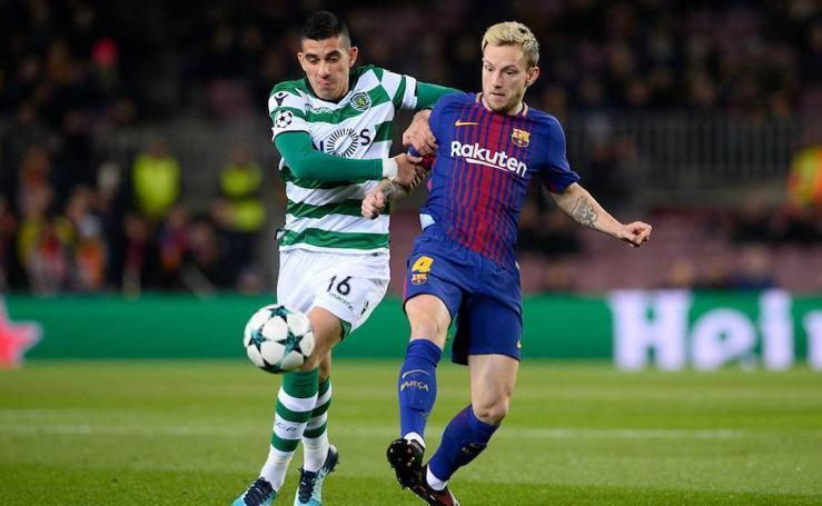 Las mejores imágenes del Barcelona-Sporting de Portugal