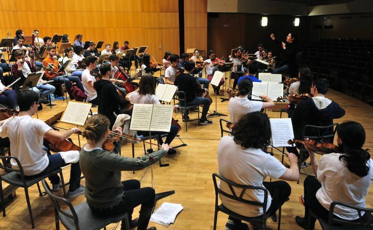 La Orquesta de Jóvenes de la Región de Murcia inicia su nueva andadura
