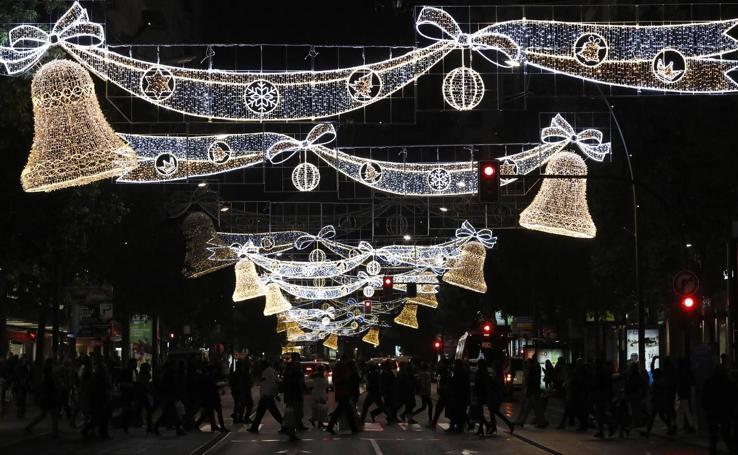 Murcia enciende la Navidad
