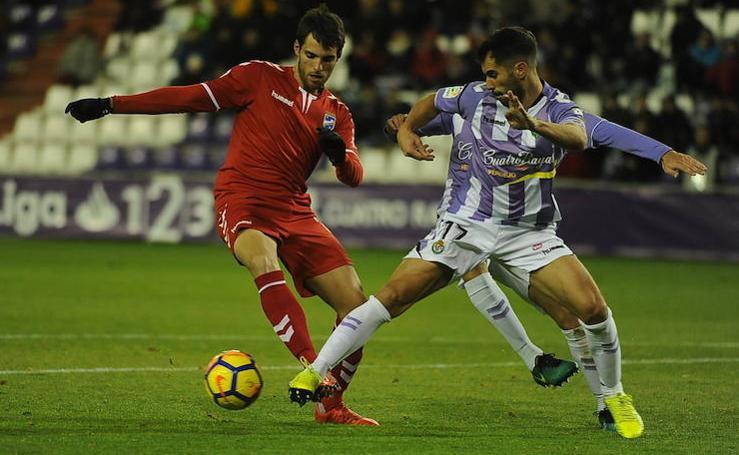 Curro Torres sale tocado de Zorrilla tras perder ante el Valladolid (3-0)
