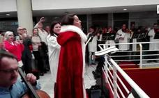 Concierto sorpresa de Ruth Lorenzo en La Arrixaca