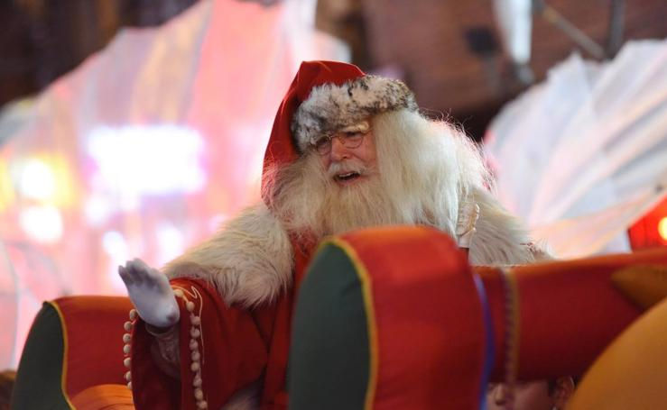 Papá Noel desembarca en Murcia