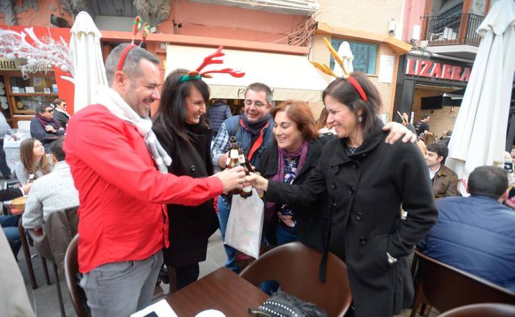 'Tardebuena' de música y bullicio en Cartagena