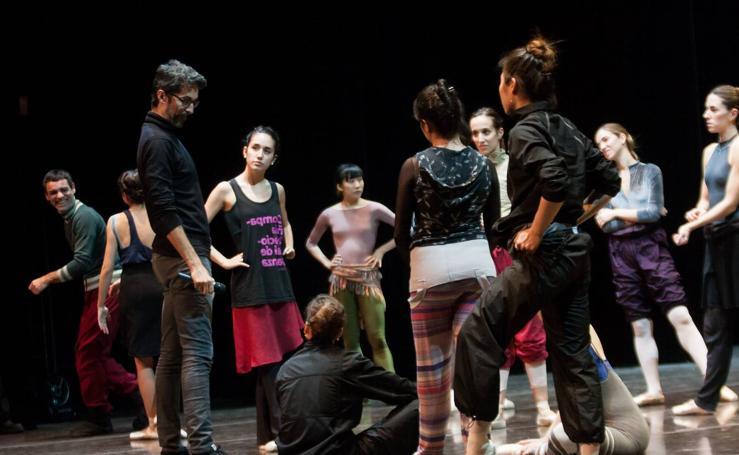 Ensayo del ballet 'Don Quijote'