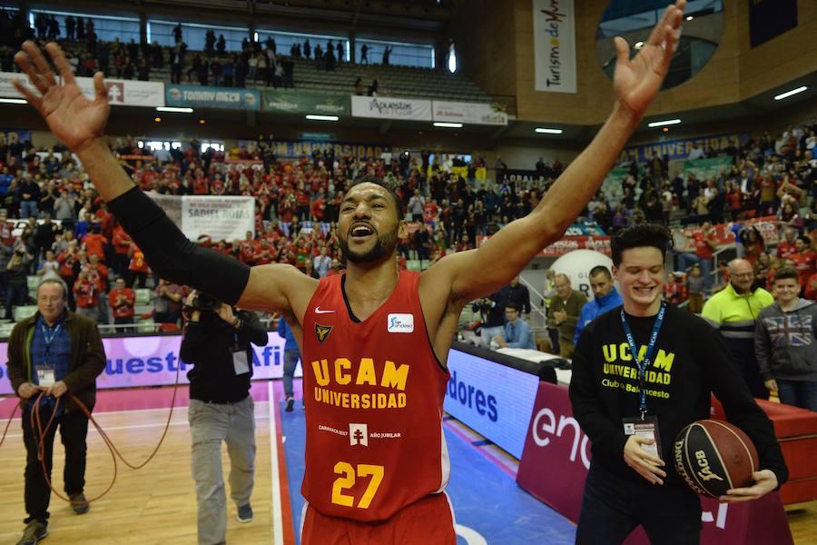 El UCAM termina el año con victoria