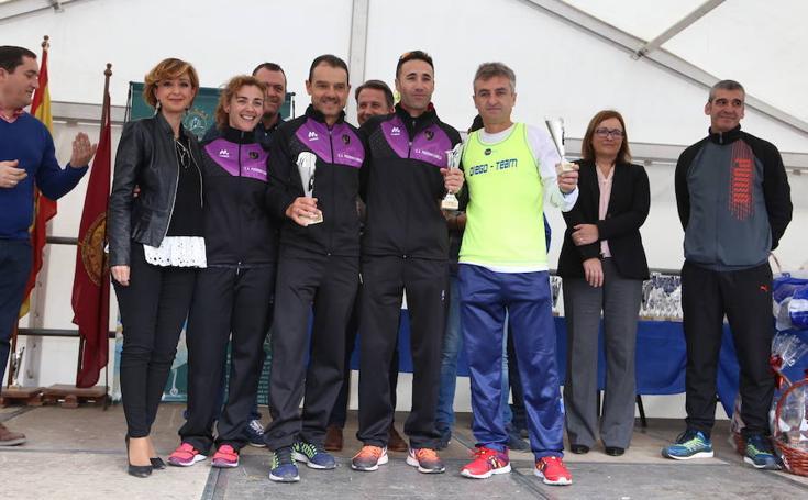 Las fotos del podio de la San Silvestre de Lorca