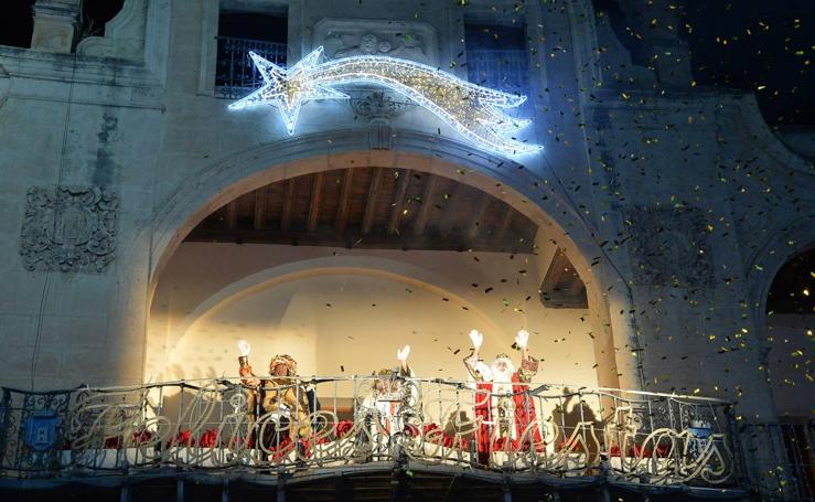 Cabalgata de los Reyes Magos en Lorca