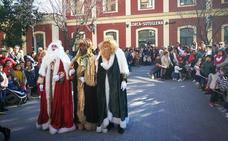Los Reyes Magos llegan a Lorca en tren